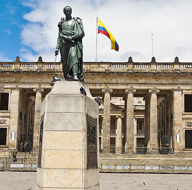 Bolivar Square - Simon Bolivar, Colombian Hero